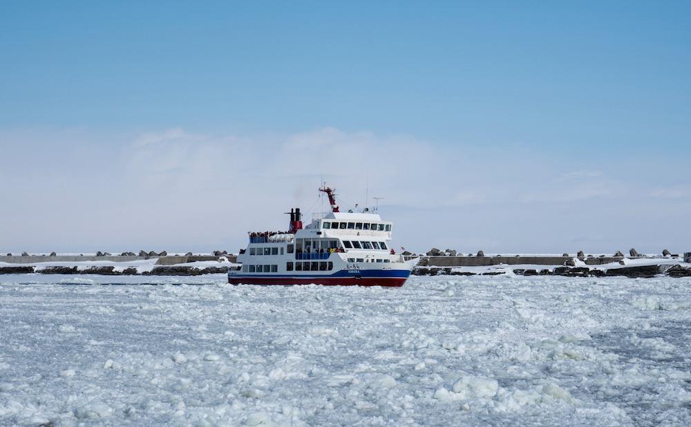 オホーツク海の恵みを育む、網走の流氷