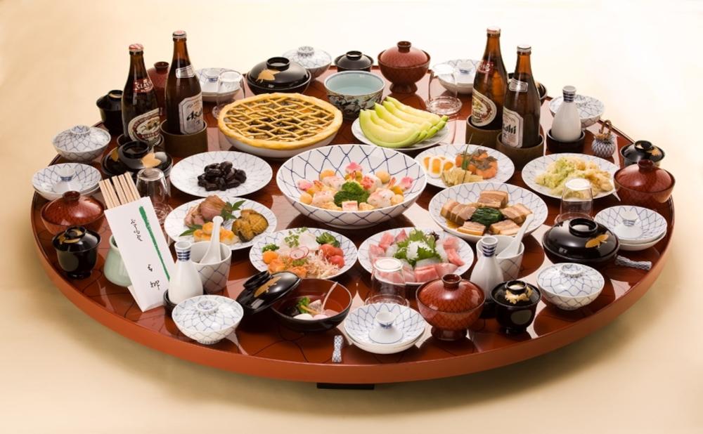 世界の文化が混じり合う長崎の卓袱料理