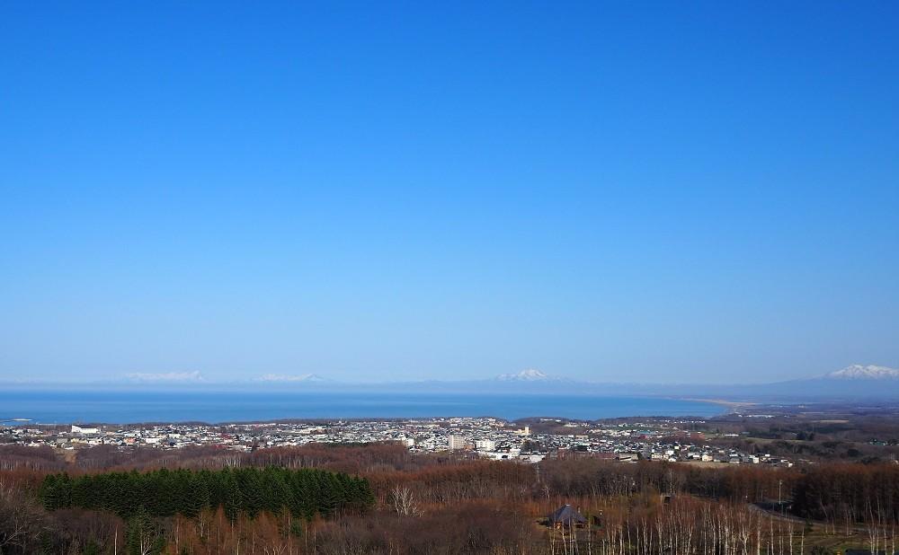 360度の絶景と流氷を体感できる天都山