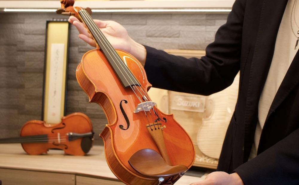バイオリン製作を通して大府市を音楽のまちに